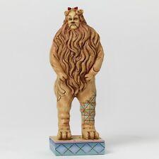 Wizard Of Oz Cowardly Lion Pint-Sized Figurine By Jim Shore - 4044761 - Nib!