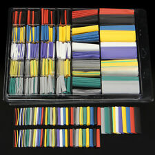 500x 10 Color Assorted Ratio 2:1 Heat Shrink Tubing Wire Cable Sleeving Wrap Kit