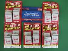 10 Intruder The Better Mouse Trap Easy Press No Touch Set Spring Plastic 16112