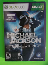 Michael Jackson The Experience XBox 360 Kinect Ubisoft Music Pop Star video game
