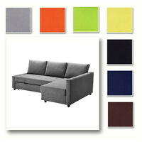 Custom Made Cover Fits IKEA FRIHETEN Corner Sofa Bed, Sofa Bed with Chaise Cover