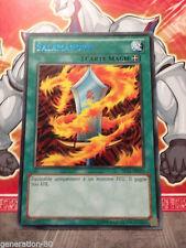 Carte YU GI OH SALAMANDRA DL15-FR013 TITRE BLEU