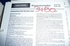 Service Manual Grundig Melody Boy 209 radio, original