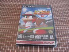 PS2 Jikkyou Powerful Pro Yakyuu 10 NTSC JAP PLAYSTATION 2 SONY NEW SEALED