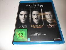 Blu-Ray  Die Twilight Saga 1-3 - Was bis(s)her geschah...