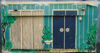 Vintage Original 1962 Cardboard Barbie Dream House