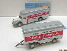 """Brekina: Mercedes L 6600, Ackermann Valise Hzg. """"Otto Wieland & Cie."""""""
