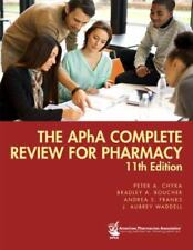 The APhA Complete Review for Pharmacy 11th edition