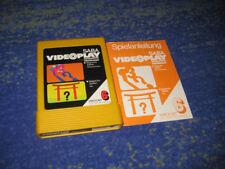Saba Videoplay Nordmende TelePlay Fairchild NR. 6 und Anleitung
