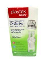 New Playtex Baby Nurser Drop-Ins 100 Liners (8-10 oz) J1