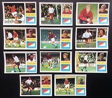 Burnley FKS 1973-74 il meraviglioso mondo delle stelle del calcio 11 X ADESIVI