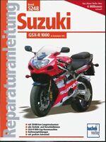 Suzuki GSX R 1000 2001 Reparaturanleitung Reparaturbuch Reparatur-Handbuch Buch