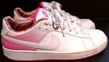 NIKE SANTA CRUISE 318872 White, Hot Pink Athletic Tennis Shoes - Womens Size: 8