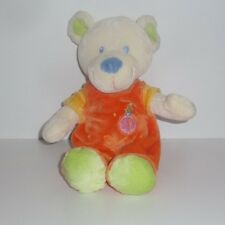 Doudou Ours Mots d'enfants - Orange