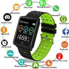 Relógio inteligente Impermeável monitor de frequência cardíaca Pulseira Pulseira Para iOS Android Chk