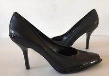 Nine West NAIRIR Black Leather Pumps Women Shoes Size 9 M