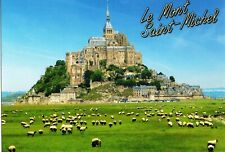 Cp-le mont-saint-michel and the sheep pre-salted