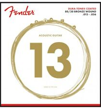 Fender 880M Dura-Tone Extra Light 13-56 - Jeu de cordes guitare acoustique