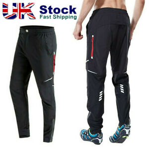 Men's Thermal Winter Cycling Windproof Pants Bike Bicycle Windproof Trousers UK