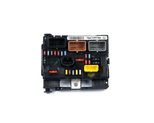 Citroen BSM Modul 9667199780 Sicherungskasten Steuergerät Zentralelektrik
