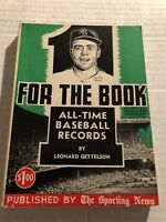 1957 Sporting News 1 FOR THE BOOK Records PEE WEE REESE Brooklyn Dodgers 358 pgs