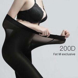 Super Elastic Women Plus Size Tights Warm Thermal Velvet Pantyhose Stockings US