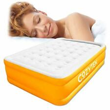 Cozytek Deluxe Inflatable Mattress Double Blow up Air Bed with Built in Pump