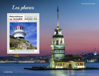 Guinea Lighthouses Stamps 2020 MNH New Cape Point Lighthouse Architecture 1v S/S