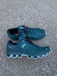 On Cloudventure Men's Size 10 Trail Running Shoe Evergreen/white