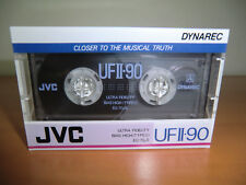 JVC UF II 90 Dynarec - Type II  Audio Cassette - NEW / NEU Sealed ! MC SELTEN !