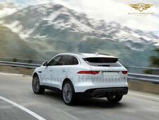 Jaguar F Pace Rear Quad Tips Valance Diffuser Bumper Upgrade