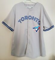 Toronto Blue Jays MLB Road Jersey Grey Size Men's XL Baseball Gray ON Canada ⚾
