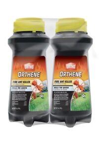 Lot of 2 Ortho 0282210 Orthene 12 Oz. Fire Ant Killer Best Value Powder! NEW