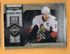 2010-11 Limited Daniel Alfredsson Banner Season /199 Senators