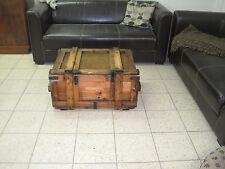 Holzkiste Shabby-Chick -Vintage Weinkiste  Couchtisch  Tisch Möbel  Truhe  Kiste
