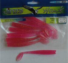 Leurre souple odorant mer ou rivière Grauvell Jinza Hawk Xingu 10,5cm PS