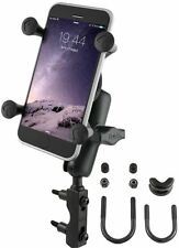 RAM Motorcycle Clutch / Brake Mount w/ X-Grip Holder fits iPhone 7, 6, 5, 5S, SE