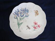 """Lenox Butterfly Meadow Orange Sulphur Dinner Plate 11"""" Butterfly Flower Lady Bug"""