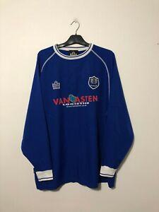 Peterborough United Home Football Shirt Jersey 2003/04 XL  Long Sleeve L/S