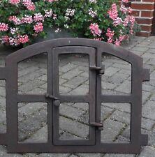 Stallfenster Fenster Gussfenster Gartenmauer Eisenfenster Remise Scheune Bau