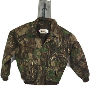 Cabelas Large Super Slam Insulated Hunting Jacket Realtree Thinsulate