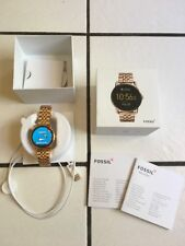 Fossil Q Wander Rose Gold Stainless Steel Touchscreen Smartwatch