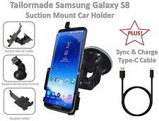 BESPOKE! Premium Car Holder + Type C Data Sync Charging Cable Samsung Galaxy S8
