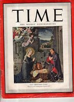 1945 Time December 24 - War Crimes - Jews Executed; Christmas Peace; A- bomb