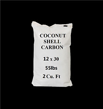 Activated Charcoal--(55 Lbs/ 2cuft) Bulk Coconut Shell Carbon Filter Media-NSF 6