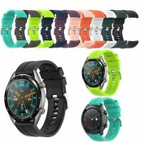 Silicone Soft Wrist Watch Band Strap Bracelet Part for Huawei Watch GT 42/46mm