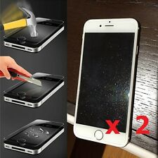 2x Diamond Tempered Glass Sparkle Glitter Screen Protector for iPhone 7 6S 6 4.7