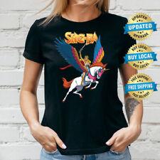 She-Ra & Swift Wind Ladies T-Shirt, Women XS-3XL Tee Retro Cartoon Comic Tee