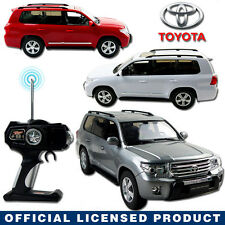 LICENSED 1:16 TOYOTA LAND CRUISER SUV Electric RC Radio Remote Control Car Toy