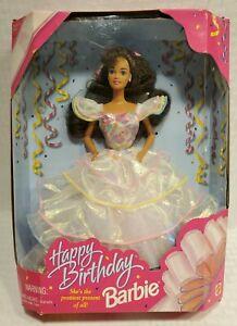 Vintage 1995 Mattel Happy Birthday Barbie Doll Prettiest Present of All #14663